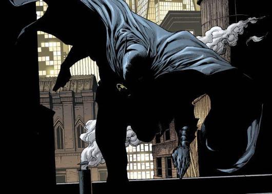 Batman corriendo la San Silvestre