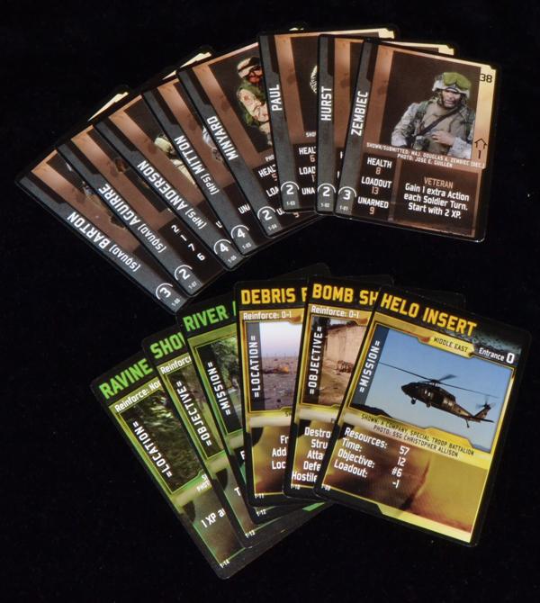 Soldados y nuevas misiones.