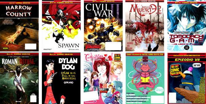 Estos son los cómics que regalan por el morramen