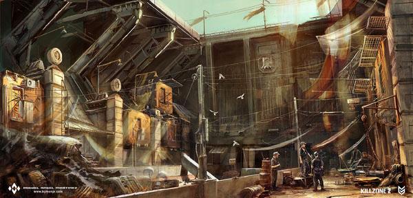 killzone2 concept art
