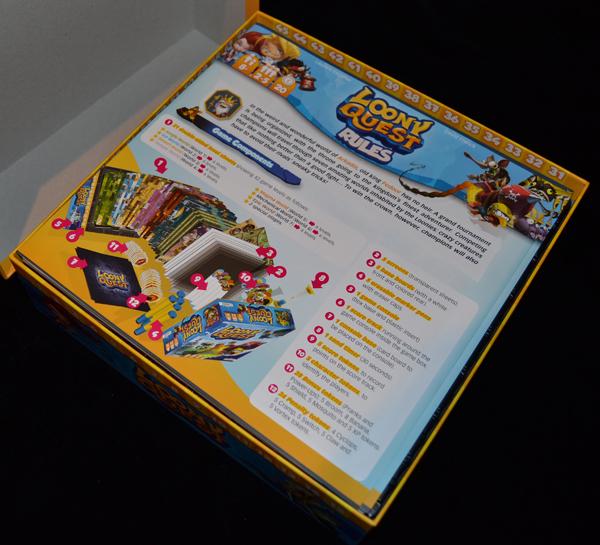 Abriendo la caja...