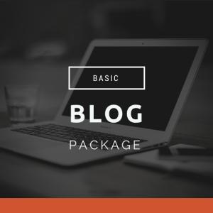 basic blog package