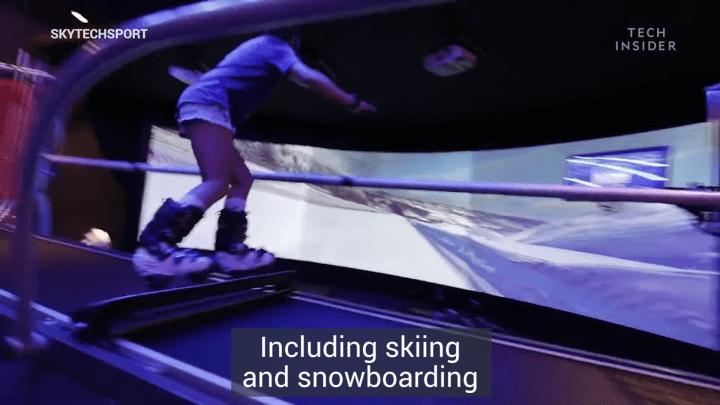 Gerçeğe En Yakın Kayak Simülatörü