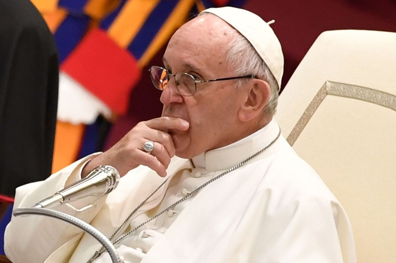 Pope Francis Christmas Greetings To Roman Curia Full
