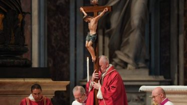 VATICAN-POPE-GOOD-FRIDAY