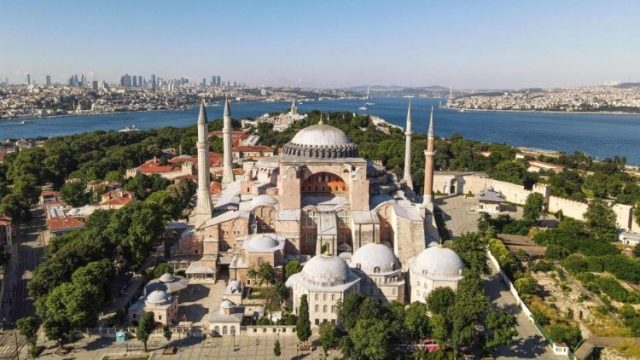 File photo of Hagia Sopha in Instanbul