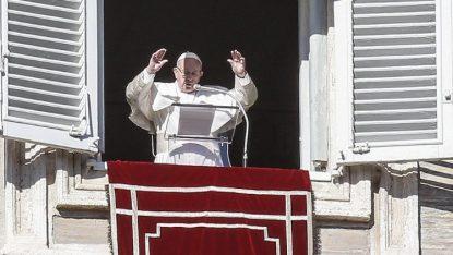 Pope Francis' Angelus