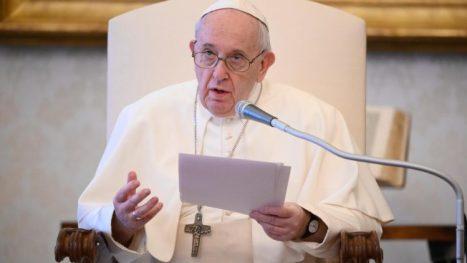 教皇フランシスコ、2020年5月20日の一般謁見