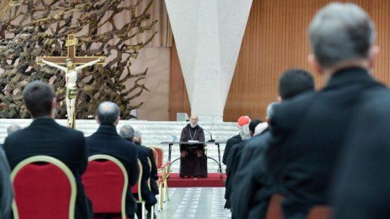 Cardinal Cantalamessa preaches a Lenten sermon (file photo)