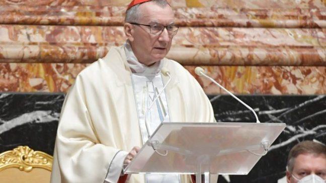 File photo of Cardinal Secretary of State Pietro Parolin