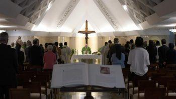 Thánh lễ tại nhà nguyện thánh Marta 04.09.2018