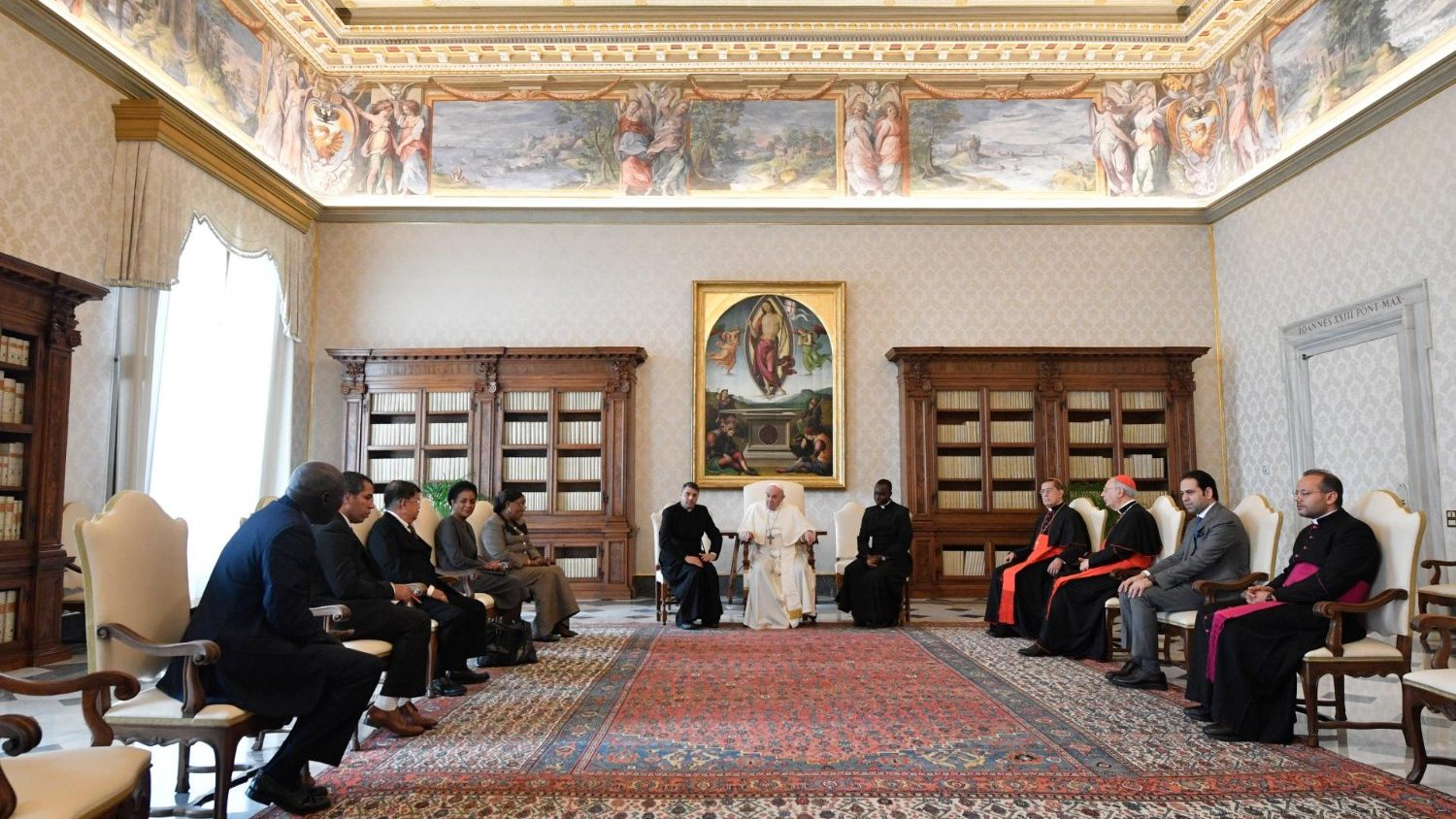 Pope meets with Zayed Award judging panel - Vatican News