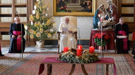 "Audience Pope: Jesus' ""sickness"" is a Christmas teaching"