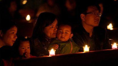 Tín hữu Trung quốc tham dự lễ vọng Phục sinh