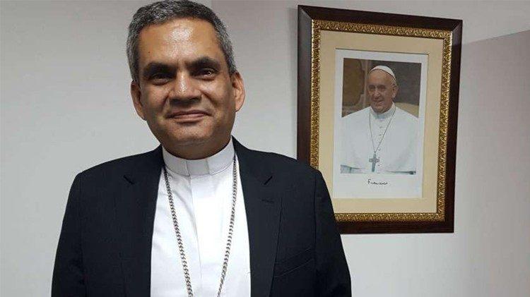 Mons Elkin Álvarez Botero. Secretario General de la Conferencia Episcopal Colombiana