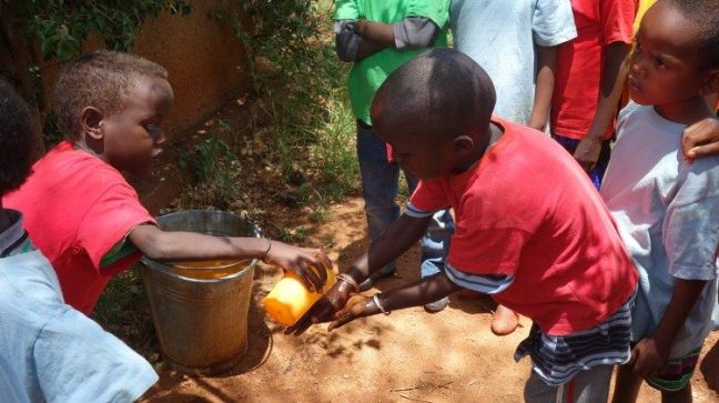 According to UNICEF, a child out of five does not have enough water for daily needs.