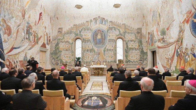 Pregação de Quaresma na Capela Redemptoris Mater