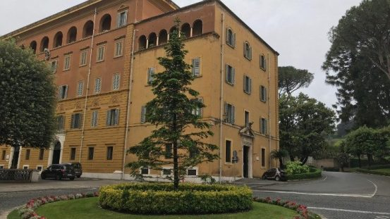 Headquarters of the Vatican Gendarmeria Corps.