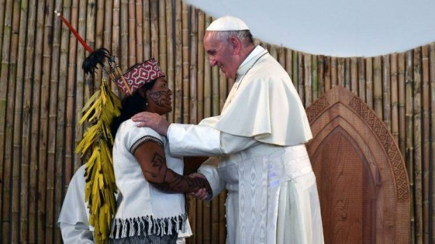 教皇フランシスコの使徒的勧告「ケリーダ・アマゾニア」発表