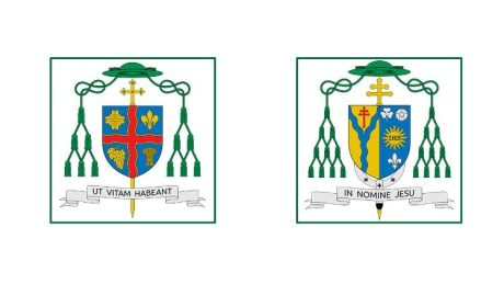 Coat of arms of Ottowa e Alexandria-Cornwall Dioceses, Canada
