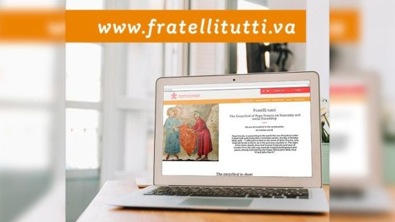 "The new website dedicated to the ""Fratelli tutti"" Encyclical"
