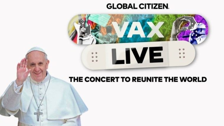 """Pope to VAX Live: """"We need light and hope, paths of healing and salvation""""  - Vatican News"""