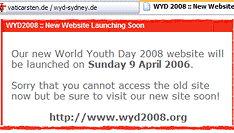 wyd2008.org - neue Website