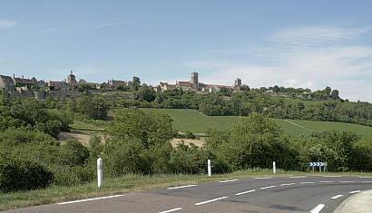 Burgund: Vézelay