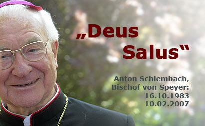 Altbischof Anton Schlembach