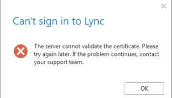Lync Unified Contact Store – UCS | Vatland
