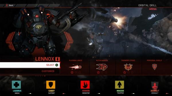 Evolve Hunting Season 2 Assaut Lennox
