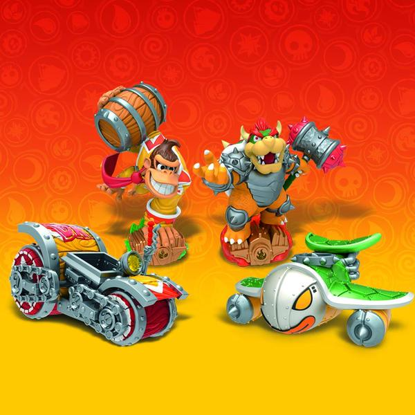 Skylanders SuperChargers Turbo Charge Donkey Kong Hammer Slam Bowser
