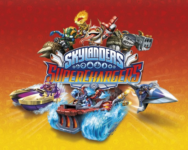 Skylanders SuperChargers Key Art