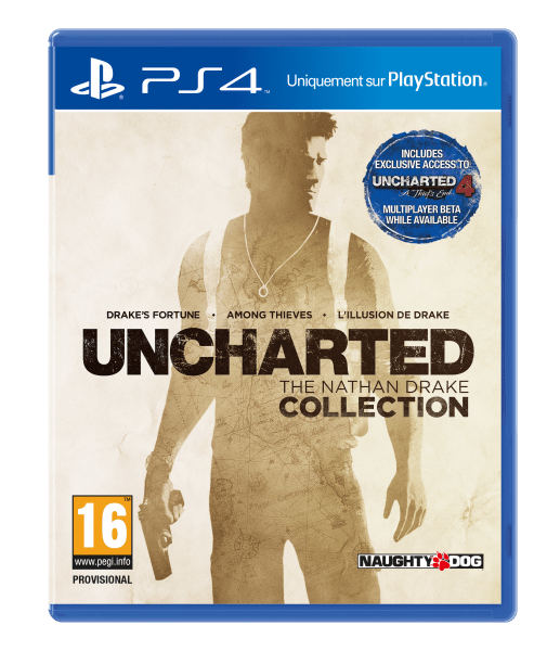 Jaquette PlayStation 4 Uncharted The Nathan Drake Collection