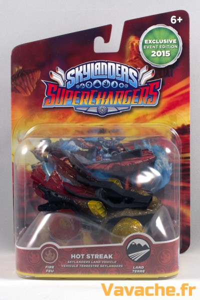 Skylanders SuperChargers Hot Streak Event Edition 2015