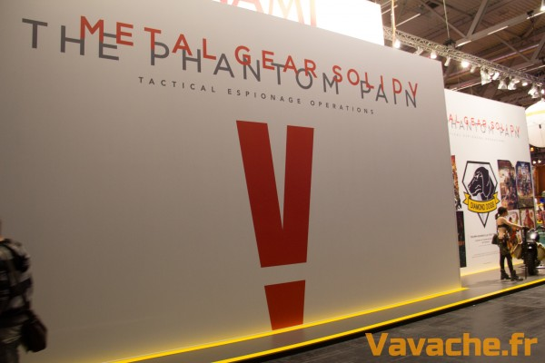 Gamescom 2015 Metal Gear Solid V The Phantom Pain