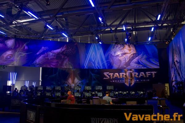 Gamecom 2015 Blizzard Entertainment Starcraft II