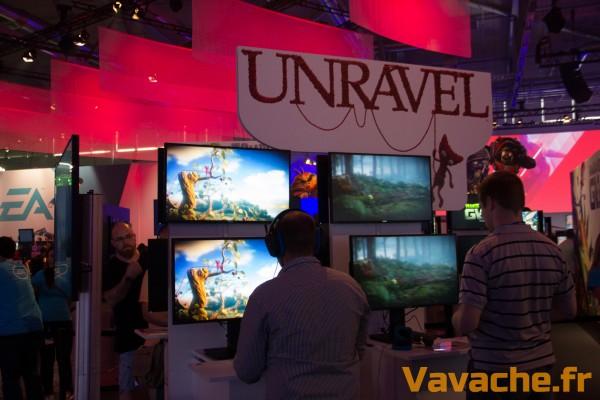 Gamescom 2015 Unravel