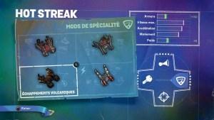 Hot Streak Mods Spécialité 3
