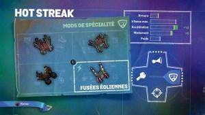 Hot Streak Mods Spécialité 4