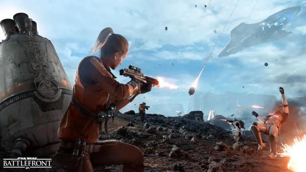 Star Wars Battlefront Zone de largage
