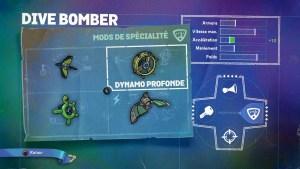 Dive Bomber Mods Spécialité 2