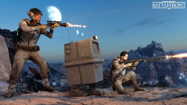 Star Wars Battlefront mode Course au Droïde