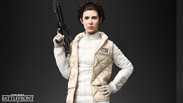 Star Wars Battlefront Leia Organa