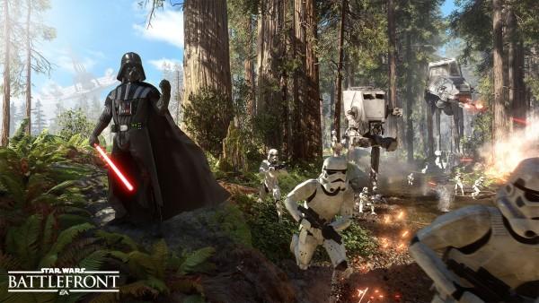 Star Wars Battlefront mode Traque