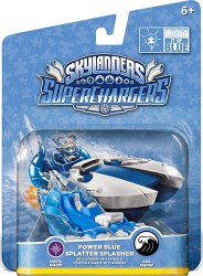 Skylander Power Blue Splatter Splasher single pack
