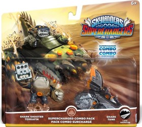 Skylander Shark Tank Shark Shooter Terrafin double pack