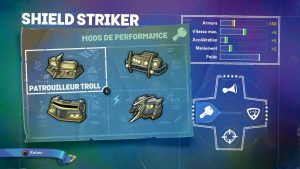 Skylander SuperChargers Shield Striker Performances