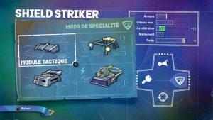 Skylander SuperChargers Shield Striker Spécialité