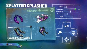 Skylanders SuperChargers Splatter Splasher Spécialité